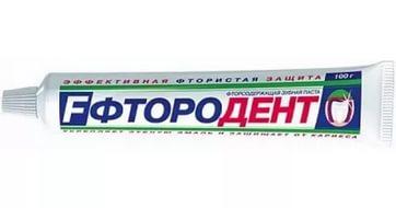 Зубная паста ФТОРОДЕНТ 100 мл, арт.: г00329