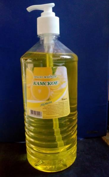 Мыло жидкое 1л дозатор Лимон, арт.: г00358