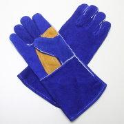 Краги спилковые синие арт.W007R, арт.: 9п2878
