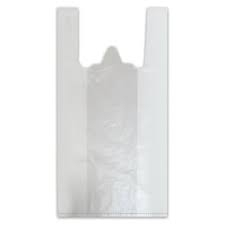 Пакет майка 38+18*68 см ПНД 18 мкр компл 100 шт, арт.: 601810