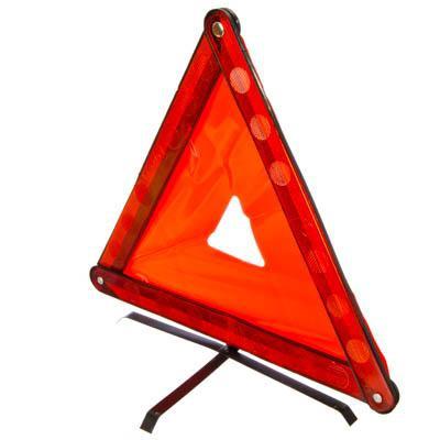 Знак аварийной остановки, цветной, мет.ножки, пластиковый боксNEW GALAXY, арт.: 764001